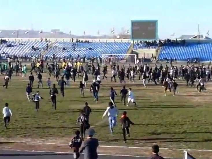 Tajik Football Match Erupts into Violence