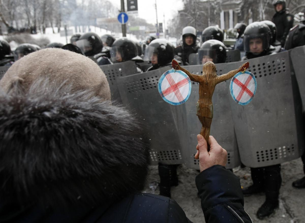 Ukrainian Ultras and the Unorthodox Revolution