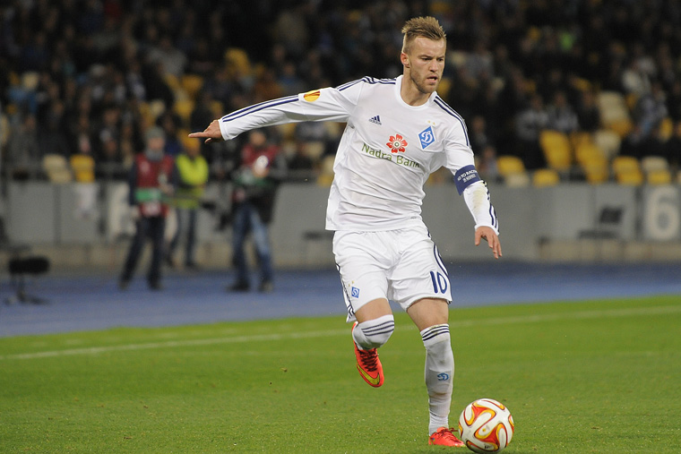 Dynamo Kyiv – The Andriy Yarmolenko File
