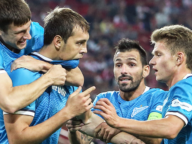 Dzyuba Goal Adds Another Chapter to the Spartak vs. Zenit Drama