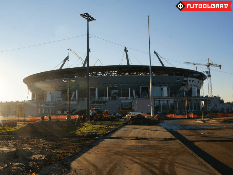 Photo Report from the New Zenit Arena