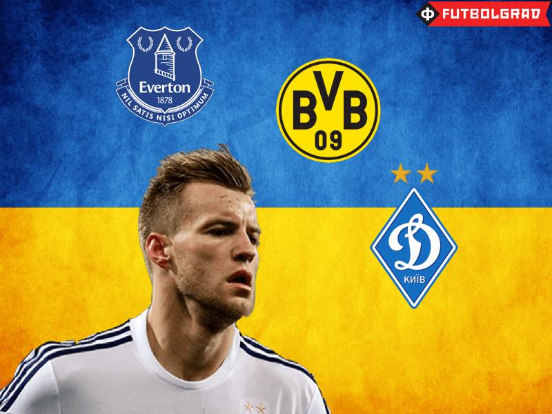 Yarmolenko Update – Everton, Dortmund, or Dynamo?