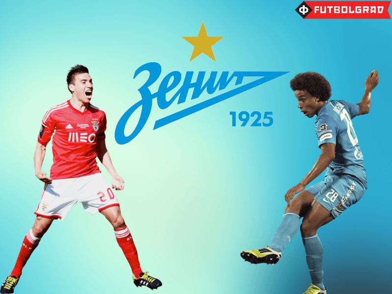 Zenit – Witsel Contract Reveals Nicolás Gaitán Option