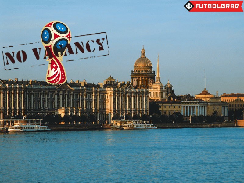 Saint Petersburg Struggles with World Cup Preparations