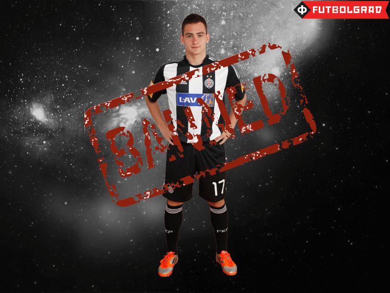 Živković – Banned From Partizan's First Team