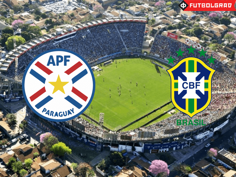 Road to Russia 2018 – Paraguay vs Brazil