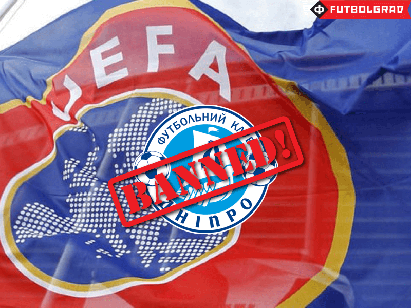 Dnipro's European Ban Leaves Future in Doubt