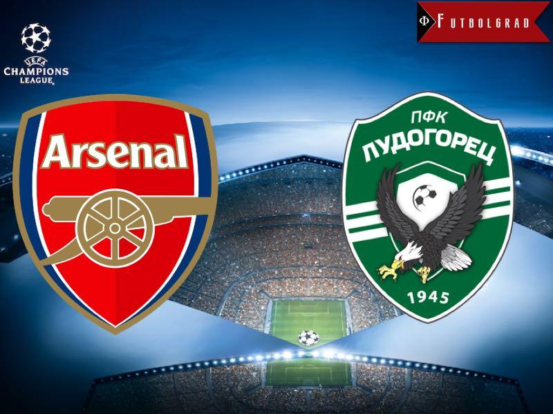 Arsenal vs Ludogorets Champions League Preview