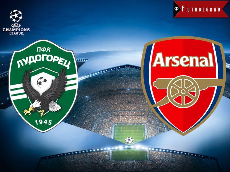Ludogorets vs Arsenal Champions League Preview