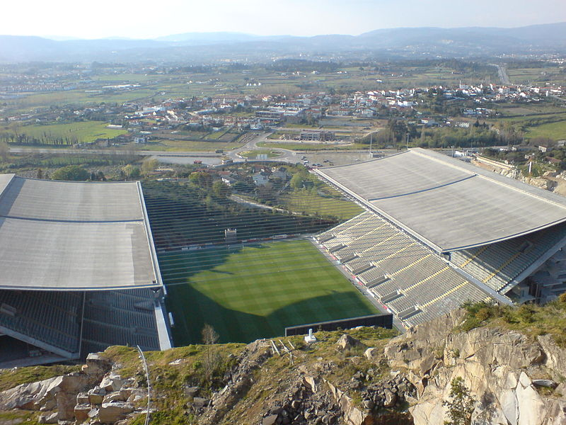 The Europa League match Braga vs Zorya will take place at the Estádio Municipal de Braga - Image by 準建築人手札網站 Forgemind ArchiMedia CC-BY-2.0