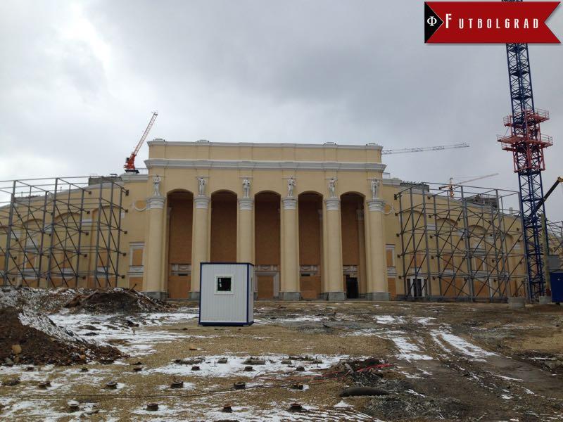 Russia's World Cup: Stadium and Urban Development in Ekaterinburg