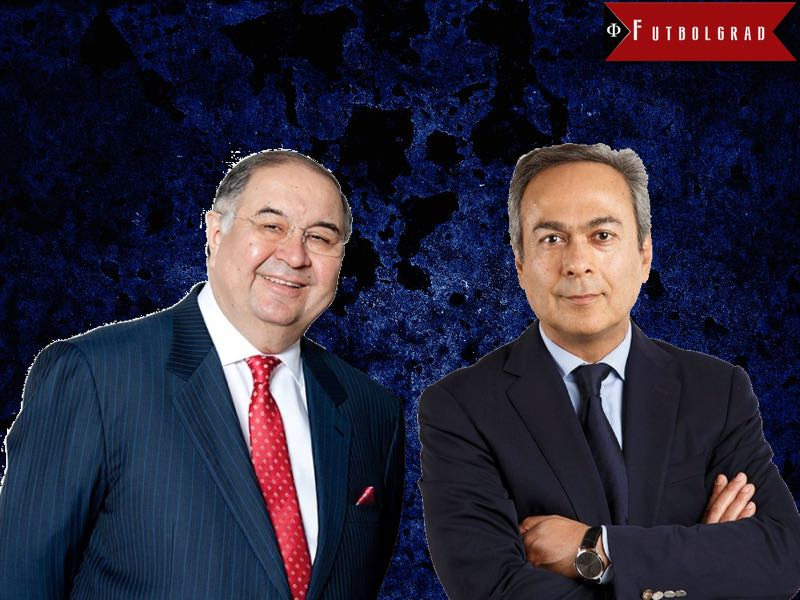 Alisher Usmanov and Moshiri