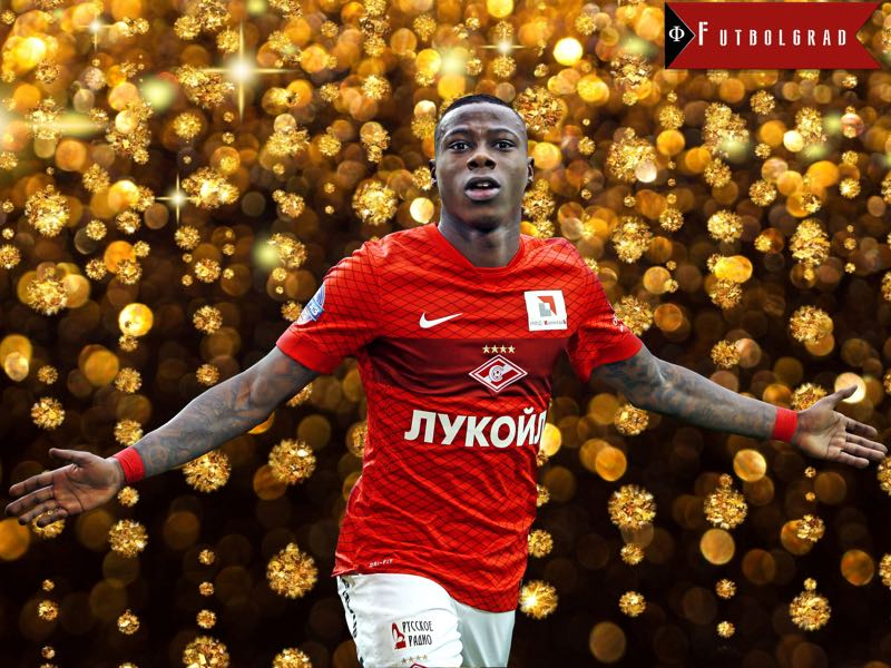 Quincy Promes and Spartak – Seven Games to Glory
