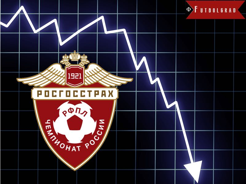 Russian Football Premier League Attendance Numbers Make no Happy Reading