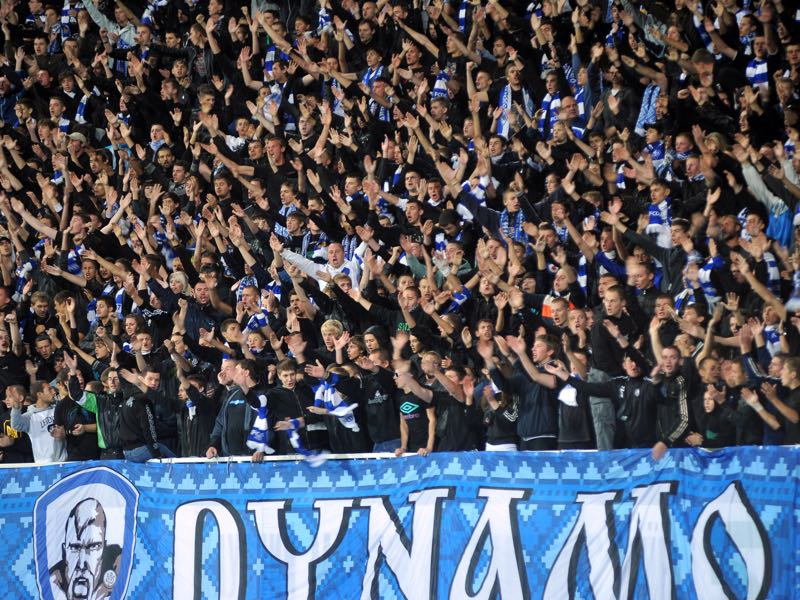 Despite the format change attendance numbers have been low outside the Dynamo vs Shakhtar derbies in the Ukrainian Premier Liga. (Photo by Genya Savilov/EuroFootball/Getty Images)