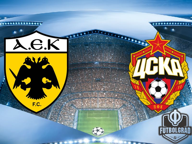 AEK Athens vs CSKA Moscow – Champions League Preview