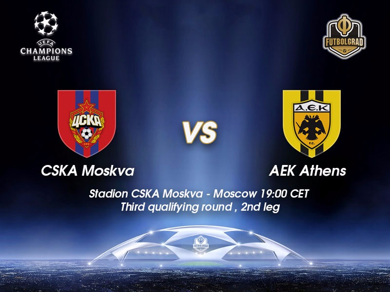 CSKA Moscow vs AEK Athens – Champions League Preview