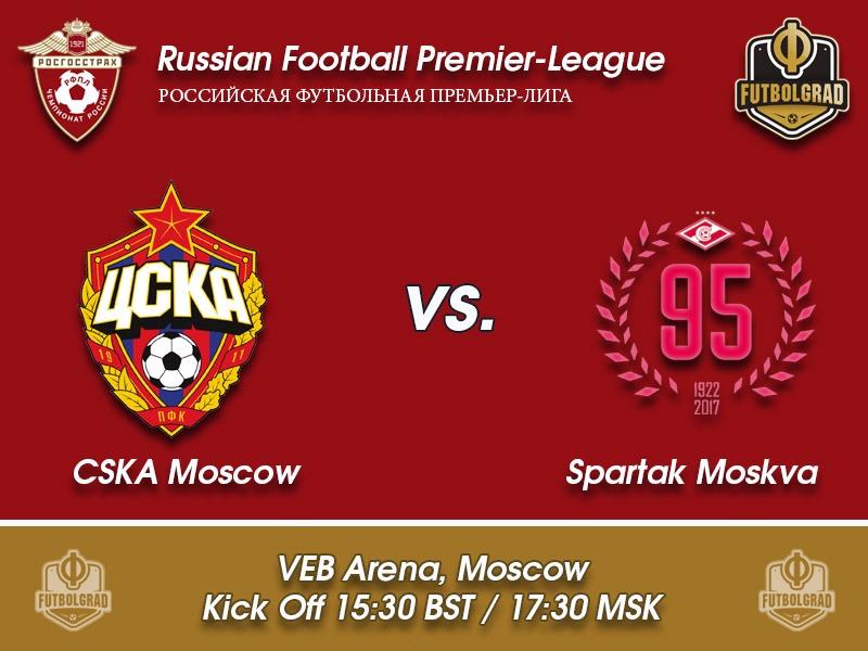 CSKA vs Spartak Moscow – Russian Football Premier League Game of the Week