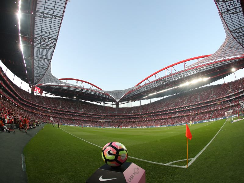 Benfica vs Zenit - will take place at the Stadium da Luz in Lisbon. (Photo by Carlos Rodrigues/Getty Images)