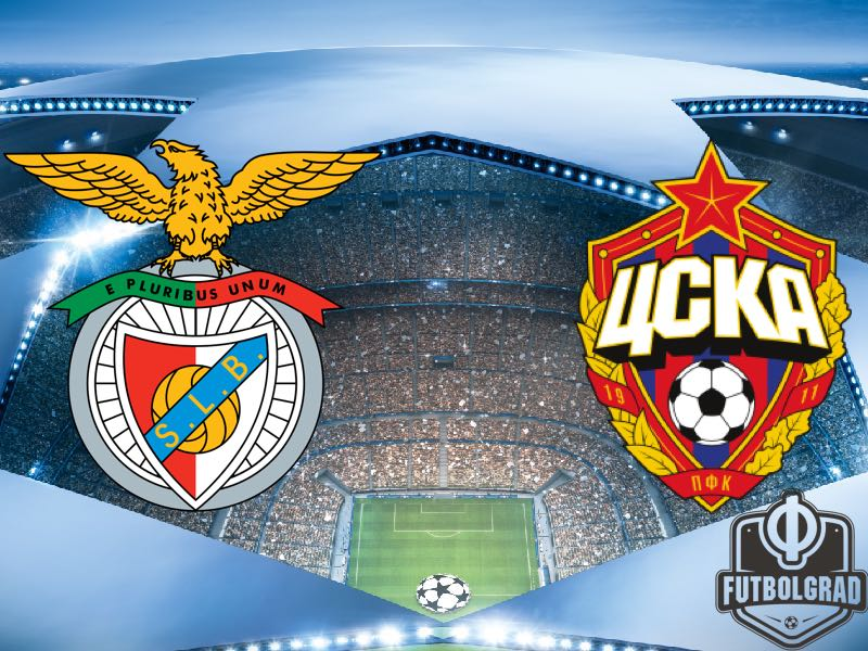 Benfica vs CSKA Moscow – Champions League Preview