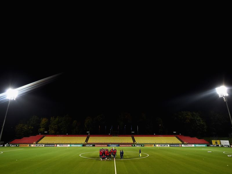 Lithuania vs Ukraine will take place at the LFF Stadium in Vilnius (Photo by Dan Mullan/Getty Images)