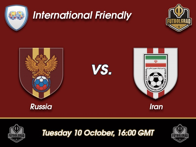 Russia vs Iran – International Friendly Preview