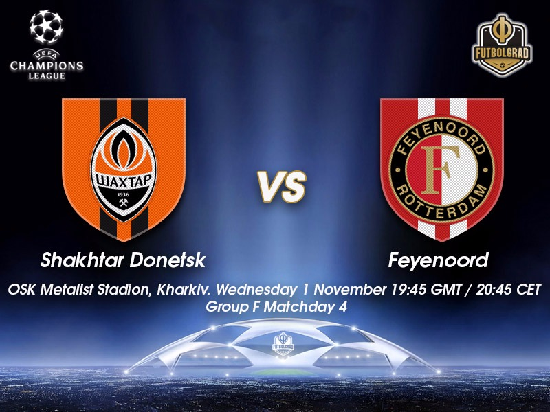 Shakhtar Donetsk vs Feyenoord – Champions League Preview