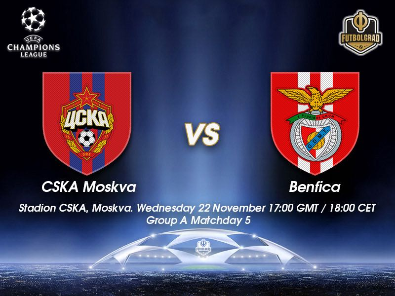 CSKA Moscow vs Benfica – Champions League – Preview