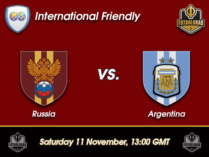 Russia vs Argentina – International Friendly Preview