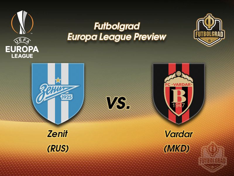 Zenit vs Vardar – Europa League – Preview