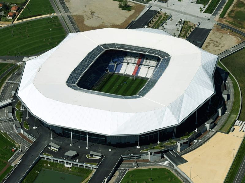 Olympique Lyon vs Shakhtar Donetsk will take place at the Parc Olympique Lyonnaise. (ROBERT GRAHN/AFP/Getty Images)