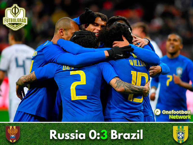 Russia v Brazil – International Friendly – Match Report