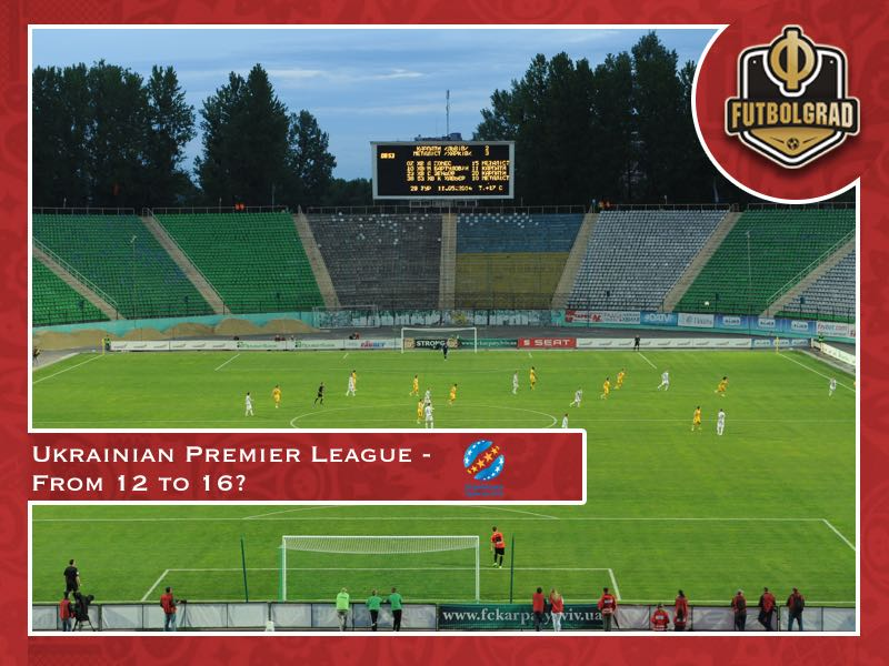 Expansion plans – Ukrainian Premier League plans return to 16 teams