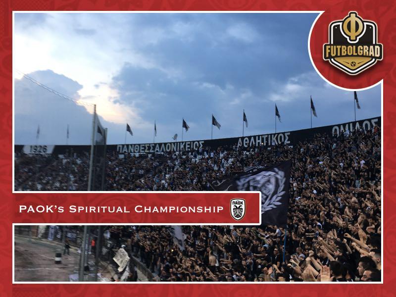 PAOK celebrate Savvidis' spiritual championship