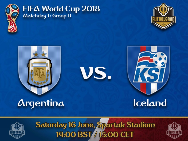 Iceland look to surprise against powerhouse Argentina