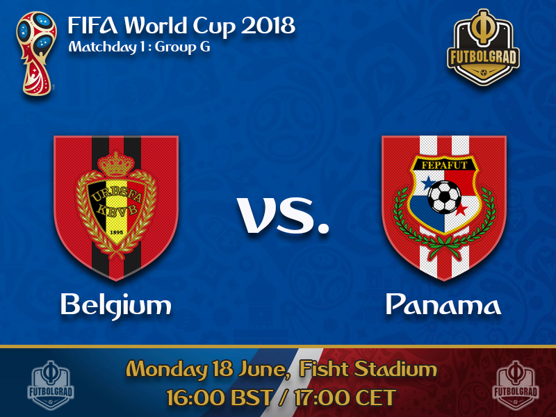 Belgium open their title challenge against underdogs Panama