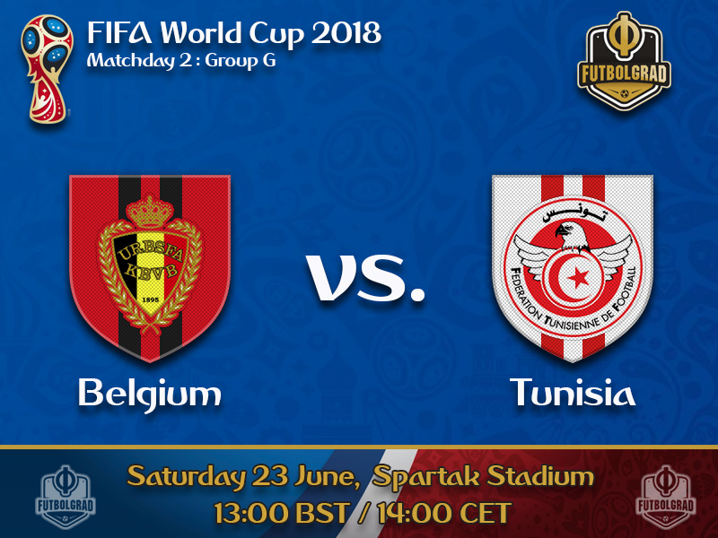 Belgium on the brink of the knock out stages, Tunisia on the brink of an early exit