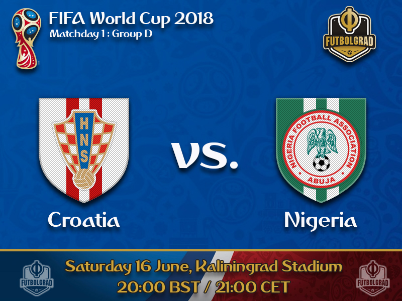 Croatia and Nigeria battle in the group of death