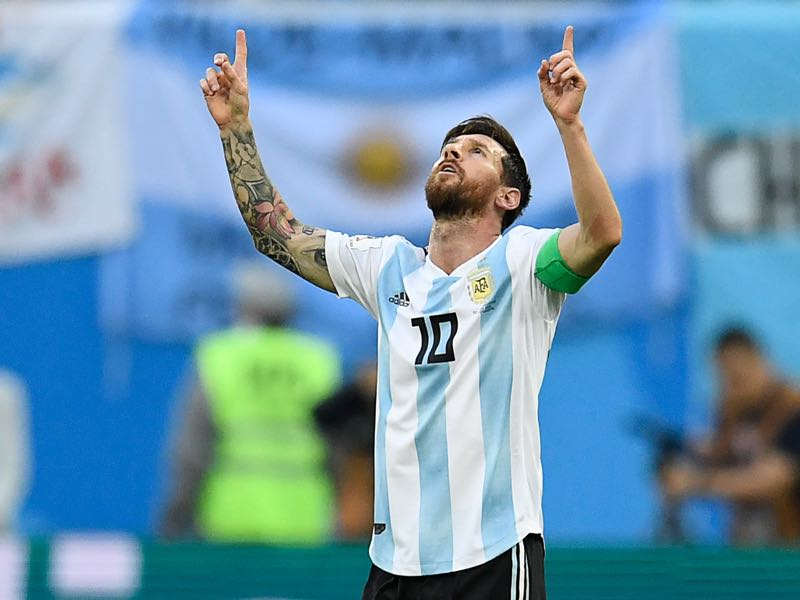 Lionel Messi could carry his country to a World Cup title (CHRISTOPHE SIMON/AFP/Getty Images)