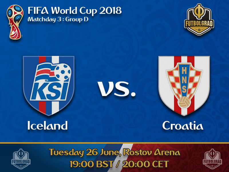 Iceland must hope for a miracle as they take on Croatia on matchday 3