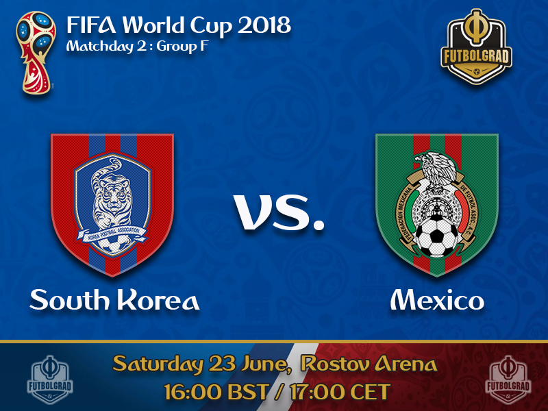 Mexico look to make decisive step to the next round against South Korea