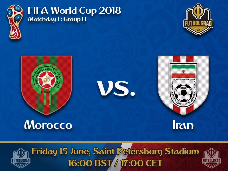 Morocco and Iran open Group B in St. Petersburg