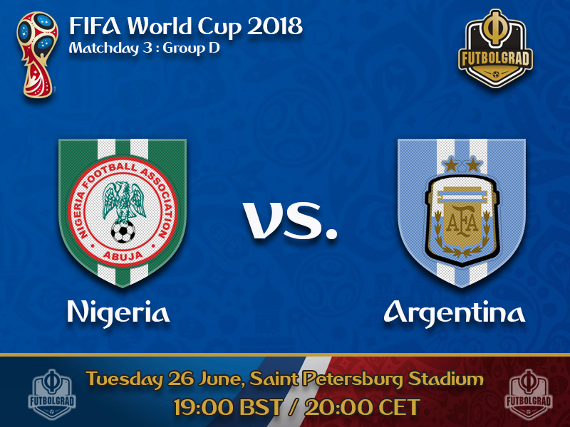 Super Eagles will attempt to knock out an indisposed Argentina side