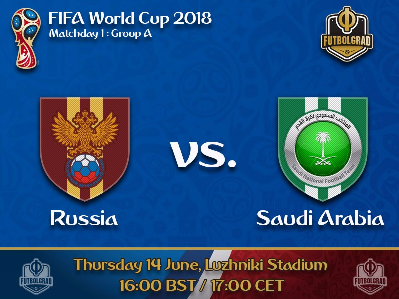 Russia under pressure when they open the World Cup against Saudi Arabia