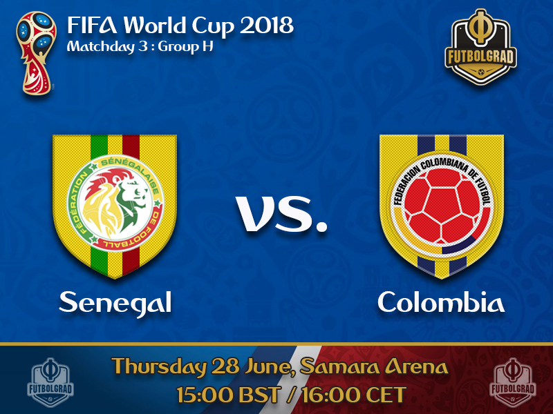Colombia must beat Senegal to be ensured ticket to the next round