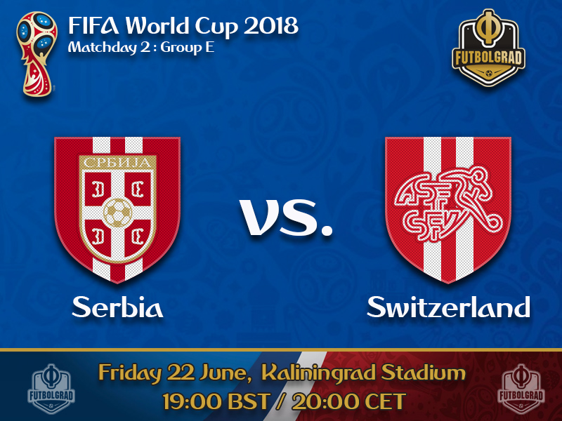 Serbia can make decisive step when they face Switzerland on Friday