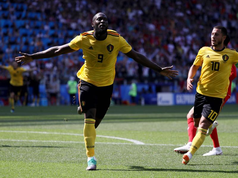 Romelu Lukaku escaped poverty to become one of the best strikers on the planet (Photo by Kevin C. Cox/Getty Images)