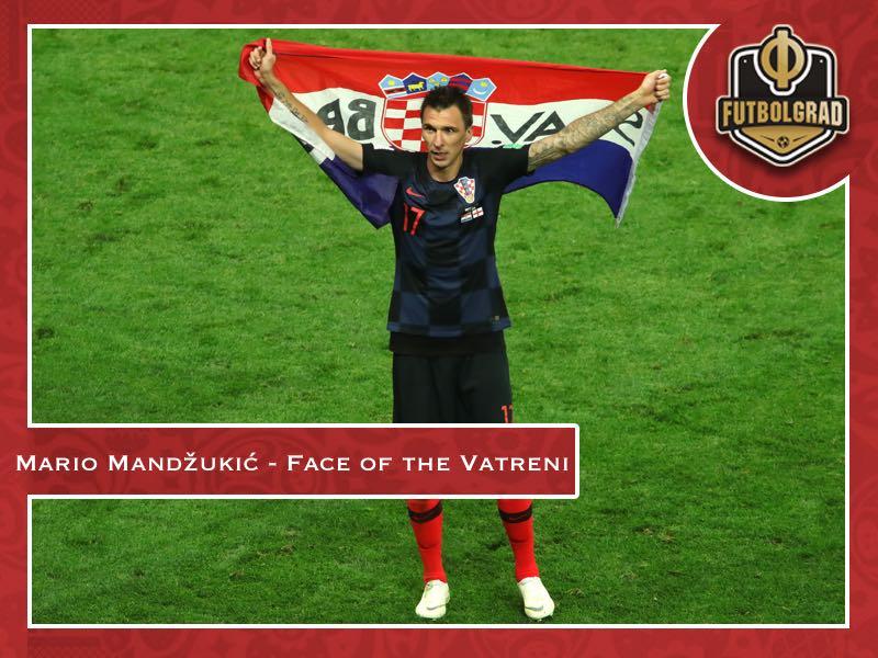 Mario Mandžukić – The face of a determined Croatia