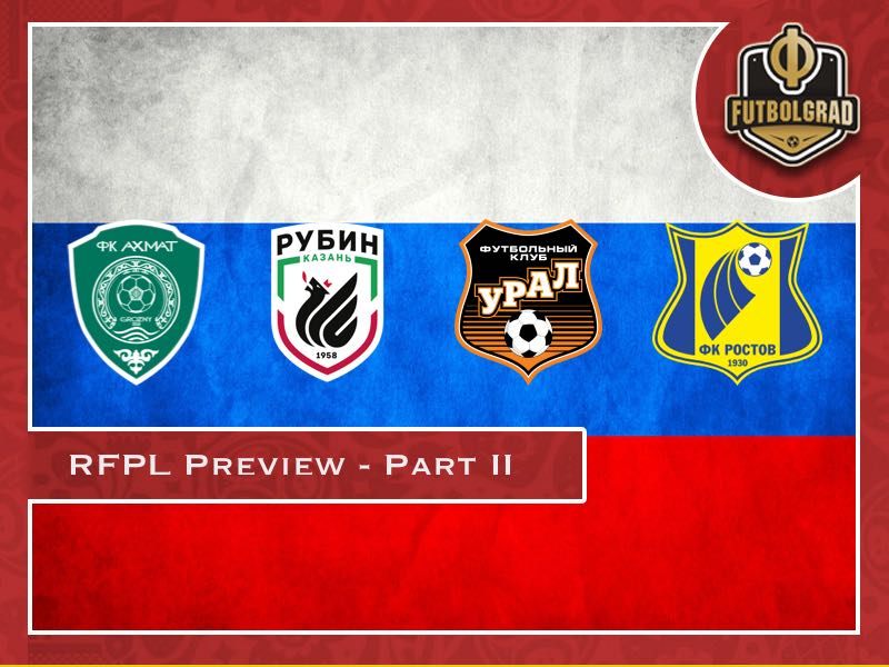 encontrar mano de obra mejor diseño de calidad Russian Football Premier League 2018/19 Season Preview - Part II