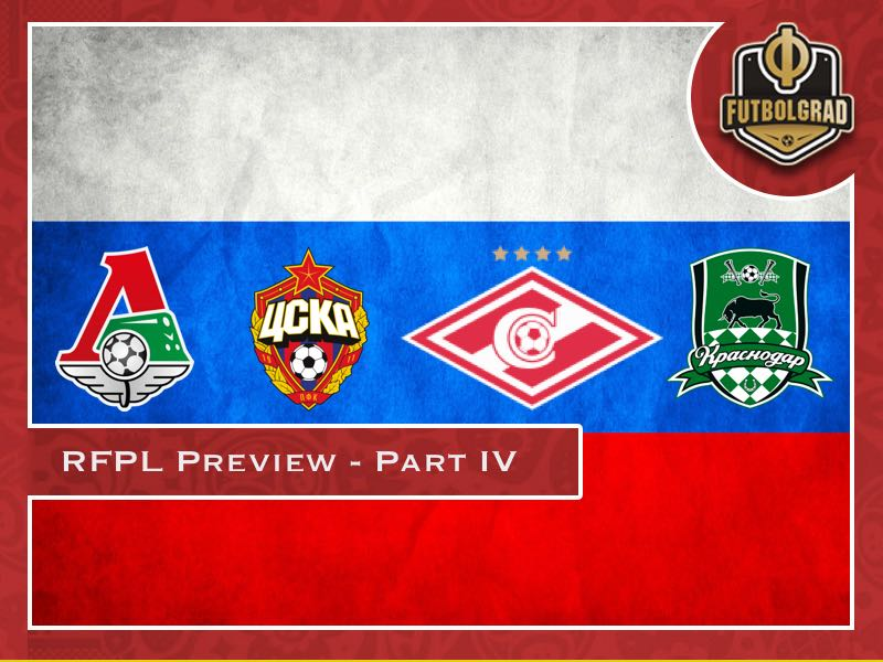 Russian Football Premier League 2018/19 Season Preview – Part IV
